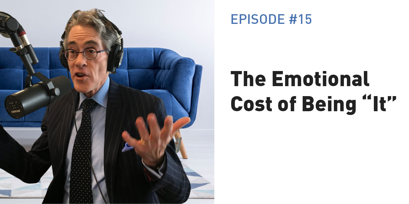 """The Emotional Cost of Being """"It"""""""